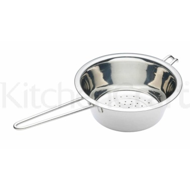 Kitchen Craft Stainless Steel 20cm Long Handled Colander