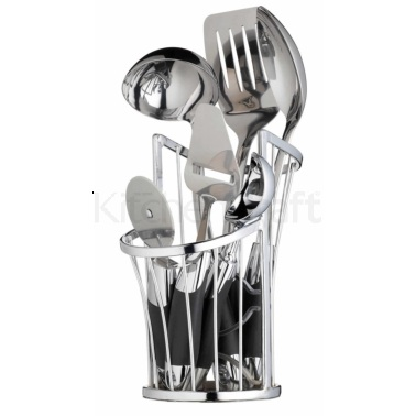 Master Class Chrome Wire Utensil Holder