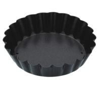 Kitchen Craft Non-Stick Loose Base Mini Fluted Tart Pan