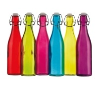 Colourworks Coloured 500ml Glass Bottles