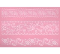Sweetly Does It Silicone Large Lace Icing Mould