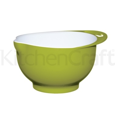Colourworks Medium Green Melamine Two Tone Mixing Bowl