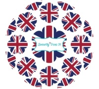 Sweetly Does It Pack of 60 Union Flag Cupcake Cases