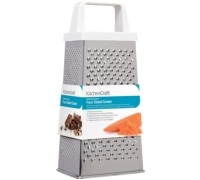 KitchenCraft Stainless Steel 20cm Four Sided Box Grater