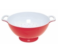 Colourworks Large Red Melamine Colander