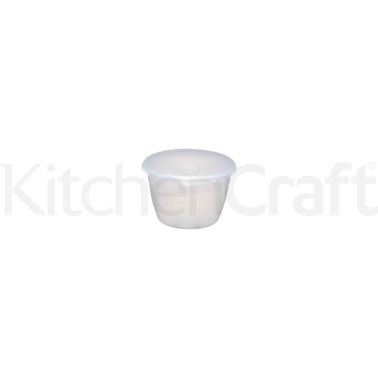 KitchenCraft Plastic 150ml Pudding Basin and Lid
