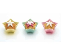 Sweetly Does It Pack of 12 Silicone Star Shaped Cake Cases
