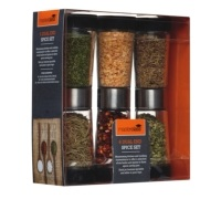 Master Class 3 Piece Dual Ended Spice Dispenser Set