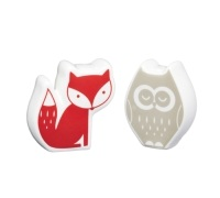 Winter Woodland Porcelain Salt & Pepper Set