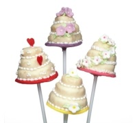 Silikon-Cake-Pop-Backform mit 20 Mulden