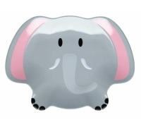 Let's Make Ellie Elephant Melamine Plate