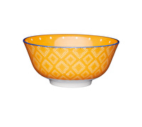 KitchenCraft Orange Spotty Ceramic Bowls