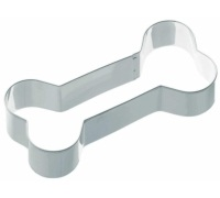 KitchenCraft 12.5cm Bone Shaped Metal Cookie Cutter