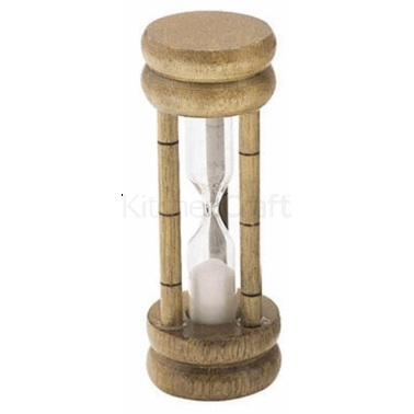 3-Minuten Sanduhr in traditionellem Design