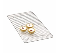 Kitchen Craft Chrome Plated Oblong Cake Cooling Tray