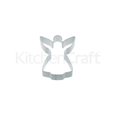 KitchenCraft 7.5cm Angel Shaped Metal Cookie Cutter