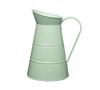 Living Nostalgia Large Metal Jug  – English Sage Green