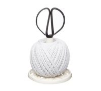 KitchenCraft Cast Iron String Reel with Scissors