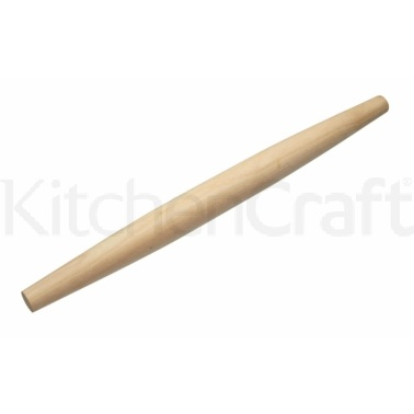 KitchenCraft World of Flavours Italian Wooden Rolling Pin