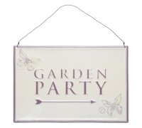 Coolmovers Butterfly Lane Garden Party Sign
