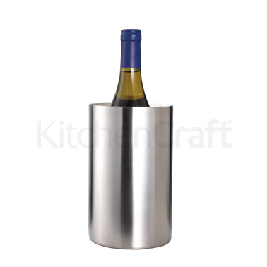 BarCraft Stainless Steel Double Walled Wine Cooler