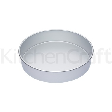 Master Class Silver Anodised 35cm Deep Cake Pan