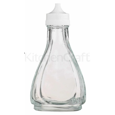 KitchenCraft Traditional Glass Vinegar Bottle