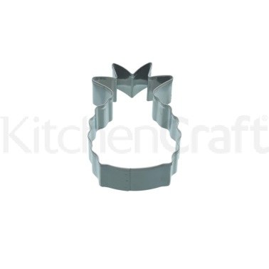 KitchenCraft 8cm Pineapple Shaped Cookie Cutter