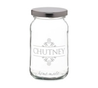 Bocal verre traditionnel 454ml « Chutney »