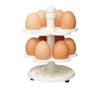 Kitchen Craft Cast Iron Egg Holder