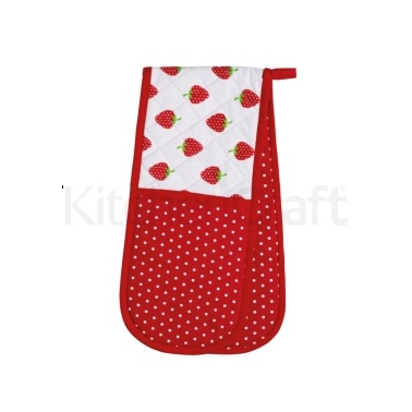 Kitchen Craft Home Strawberry Double Oven Glove