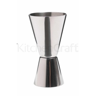 Bar Craft Stainless Steel Dual Spirit Measure Cup