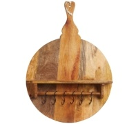 Master Class Gourmet Prep & Serve Mango Wood Shelf Board