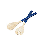 KitchenCraft Santorini Wooden Salad Servers