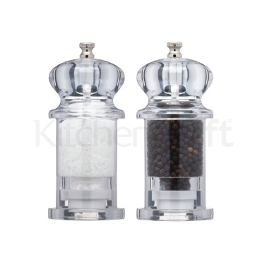 MasterClass Filled Acrylic Salt and Pepper Set