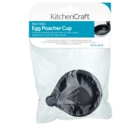 Kitchen Craft Metal Non-Stick Poacher Cup