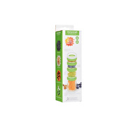 KitchenCraft Healthy Eating Plastic Stacking Food Portion Control Containers