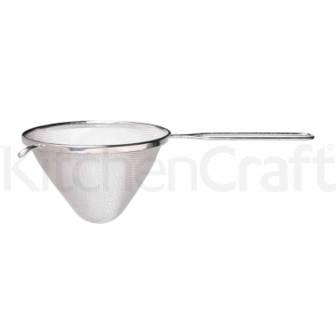 KitchenCraft Tinned 16cm Conical Sieve