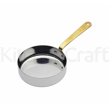 MasterClass Stainless Steel 12cm Serving Fry Pan