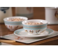 Hen House Ceramic Cereal Bowl