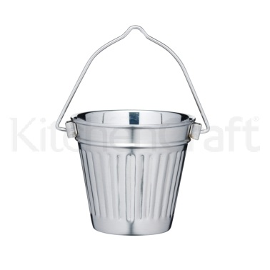 MasterClass Mini Deluxe Stainless Steel 9cm Serving Pail