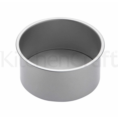 KitchenCraft Non-Stick 18cm Loose Base Deep Cake Pan