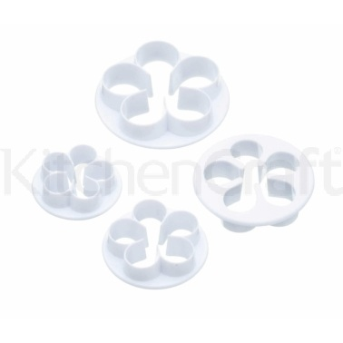 Sweetly Does It Set of 4 Rose Fondant Cutters