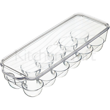 KitchenCraft Plastic Fridge Egg Basket