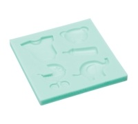 Sweetly Does It Baby Silicone Fondant Mould