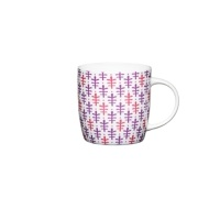KitchenCraft Fine Bone China Moroccan Leaf Barrel Mug