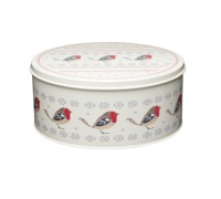 Little Red Robin Set of 2 Cake Tins