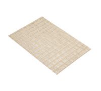 KitchenCraft Woven Rattan Stripe Placemat