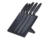 MasterClass Agudo 5 Piece Knife Set with Storage Stand