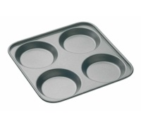 MasterClass Non-Stick 4 Hole Yorkshire Pudding Pan